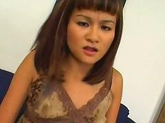 Eighteen year old asian teen fucking and sucking