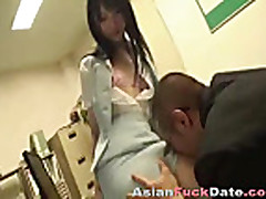 Japanese Businessman and Secretary