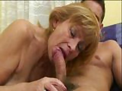 russian mom younger boy