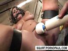 Toys and dick used to make girl squirt