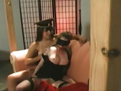 Natali Demore and Bobbi Starr - Bondage Orgasms