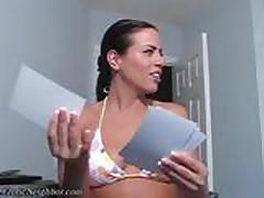 Lexi caught neighbor panties POV