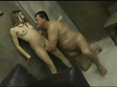 Teenage beauties fucked by old guys