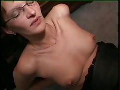 German milf fisted while in stockings