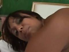 Brazilian Mama Takes A Bump In Her Rump