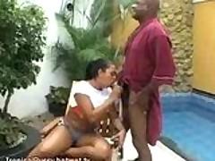 Tropical Latin Cock Suck