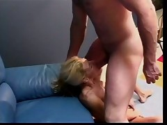 Top Heavy Tart Takes Hard Cunt Drilling