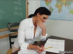 Phoenix Marie Vs Johnny Castle - My First Sex Teacher - Johnny Wants To Talk To Professor Phoenix Ma