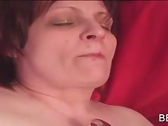 BBW Sexy Lesbos In Stockings Licking And Vibing Twat