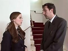 Slutty schoolgirl