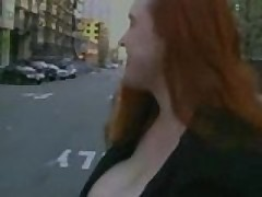 Red Head Plays With Herself