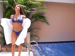 Monica Mattos - Smokin Hot Latinas #2 - Scene 1