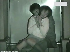It Was Getting Cold, But The Sexual Excited Couples Were Cheerfully Making Love Outside