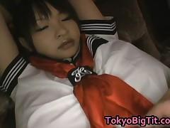 Ayumi Ayukawa - Ayumi Ayukawa Lovely Asian Model Is Giving A Titty Fuck With Her Huge Hooters 4 By T