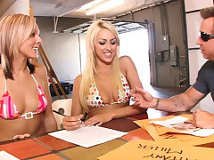 Breanne Benson And Cali Kyaden - So You Want To Be A Pornstar #2