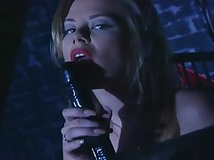 Paisley Hunter - Milf Paisley Hunter Masturbates In Latex And Stockings With A Dildo