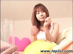 Japanese Teen Chick Pee In A Glass And Drink