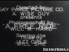 The Jazz Girls - One Of The Earliest Porn Flicks Ever Filmed
