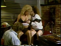 Fallon and Elise in Classic Threesome