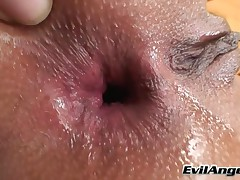 Angel Rivas - Winking 101 #02 - This Brunette Is The Ass Winks Queen She Plays With A Dildo