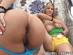 Gisselle And Jazmyne - Gisselles Fat Puerto Rican Ass With Jazmyne