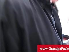 Ava Jay - Ava Jay Prefers Older Men To Fuck And Seduces Old Man