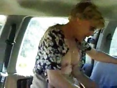 Mature Avenue Homemade Fucking In Their Car