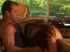 Mature guy gets the pleasure of fucking young pussy