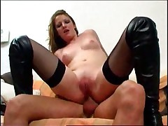 Emy experiences anal