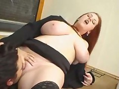 Busty teacher fucks her student