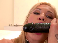 Blonde Lindsey Olsen and her anal toys