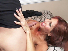 Amazing milf ravished by a strong dick