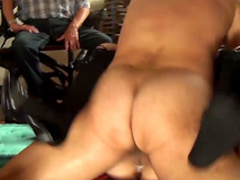 Horny milf Sarah Dark fucked in front of her husband
