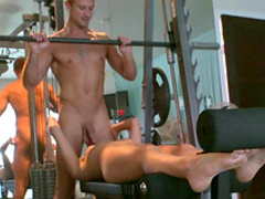 Gigi and Teagan are kissing and fucking in the gym