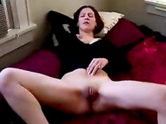 Busty amateur gf is fucking in a hot threesome