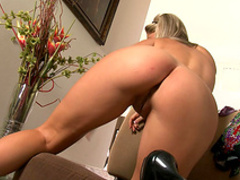 Solo clip with blonde Harmony Paxson