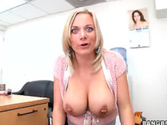 Eager big tits cock lover