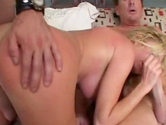 Anal gangbang with perverted blonde Hillary Scott