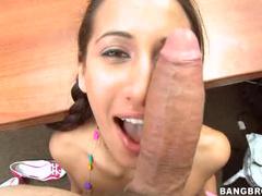 Adorable pigtails girl hardcore sex