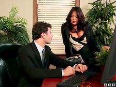 Office anal sex stars Mia Lelani