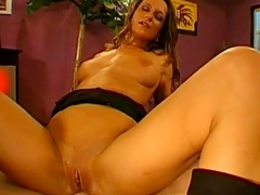 Celine swallow sperm from a really big poles