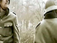 Hardcore porn with soldiers