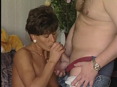 Wife and hubby Christmastime fuck