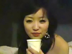 Japanese girlfriend loves hot sex