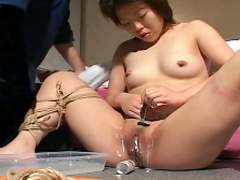 Perverted beauty is getting hardcore spanked