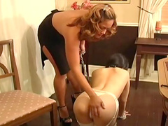 Innocent Japanese babe being dominated and humiliated