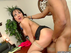 Black dick in the office