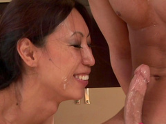Seth Gamble fucks with Asian chick Tia Ling