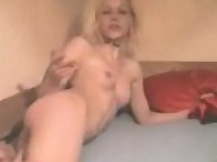 Drunk German slut loves to party!