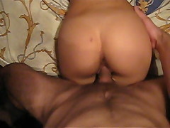 Amateur couple. Real creampie
